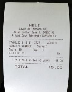 Bill @ Heli bar