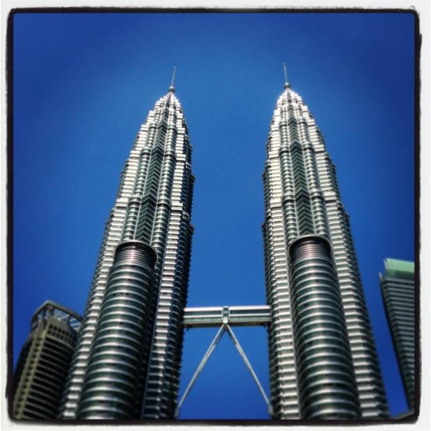 Kuala Lumpur iconic twin towers
