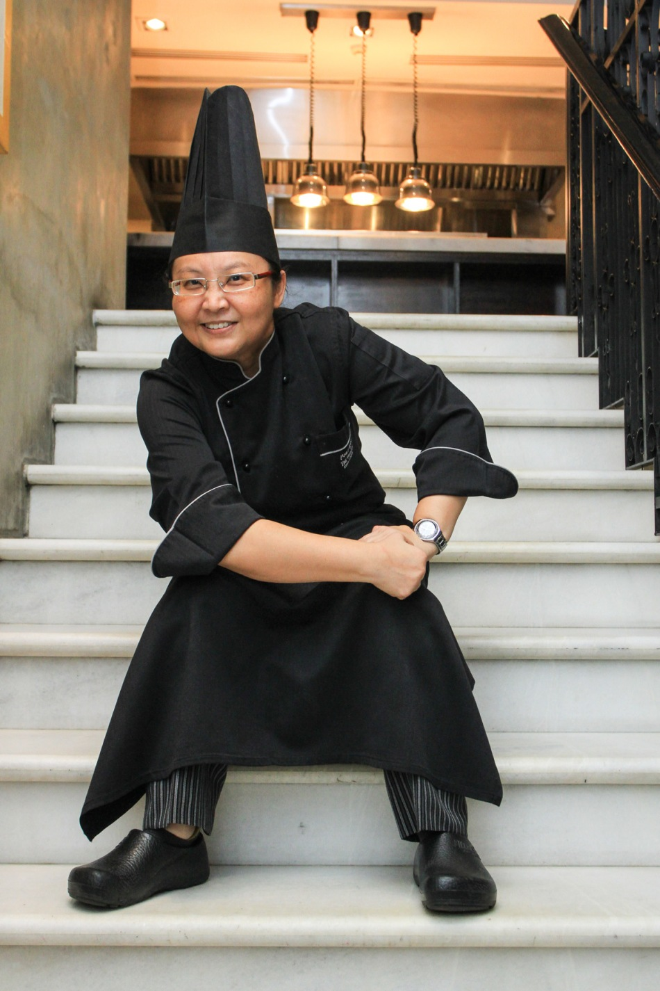 The talented and bubbly Chef Pearl Woo - Picture courtesy of The Westin, Kuala Lumpur