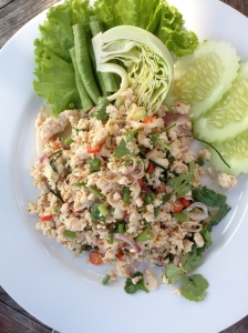 Spicy and delicious Thai salad