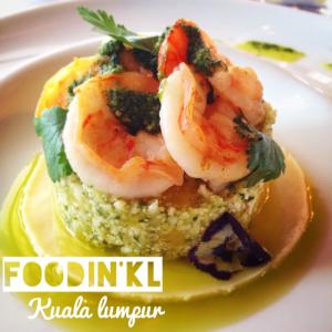 A gourmet lunch menu @ Nathalie Gourmet Studio