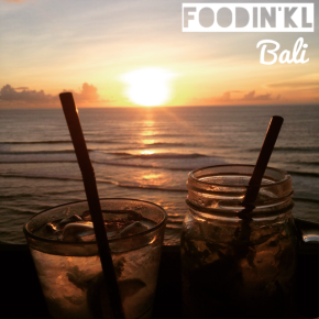 Sunset drinks @ Single Fin, Bali
